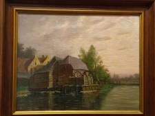 Eindhovens Museum koopt werk van leerling Vincent van Gogh, die net als hijzelf de Genneper Watermolen schilderde