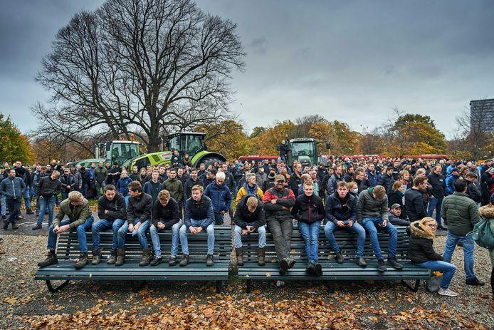 Farmers Defense Force (FDF) in Den Haag