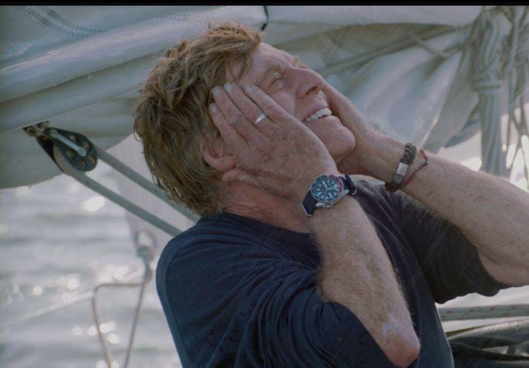 Robert Redford in All is Lost van J.C. Chandor Beeld