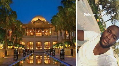 """""""Iedereen wil naar Dubai"""", zegt Mourinho. Maar Romelu Lukaku is er al"""