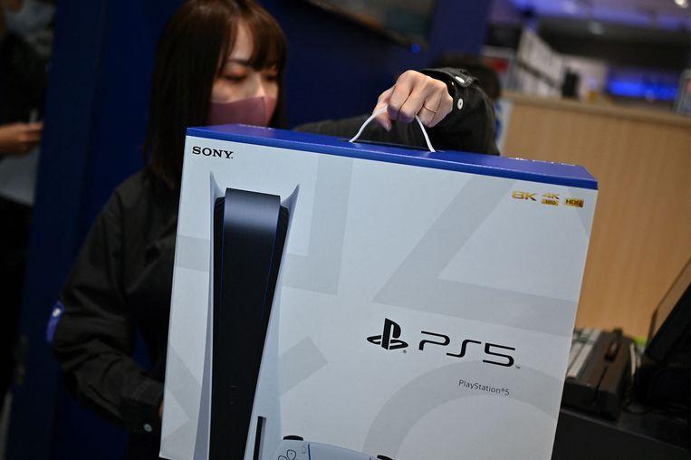Sommige mensen weten wel een Playstation 5 te bemachtigen. Beeld AFP
