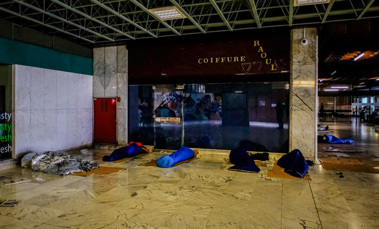 Het station van Brussel-Noord. Beeld Photo News