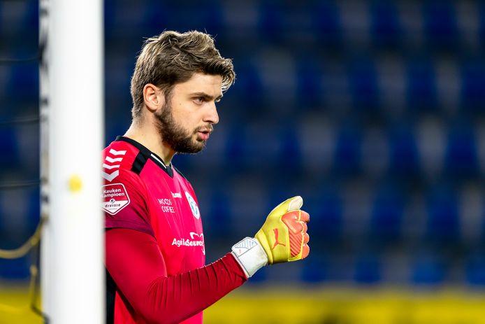 De Graafschap-doelman Rody de Boer ging opzichtig in de fout bij de 1-0.