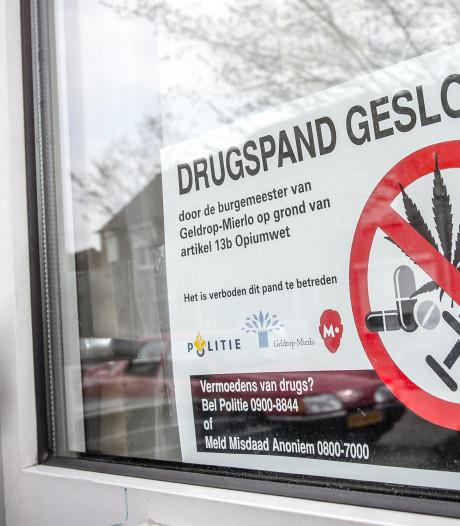 Burgemeesters mogen drugspanden sneller sluiten, ook Eerste Kamer akkoord