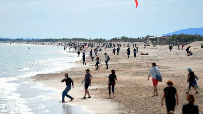 Negen zwemmers verdronken voor Franse kust