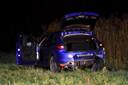 De auto die achtervolgt werd.
