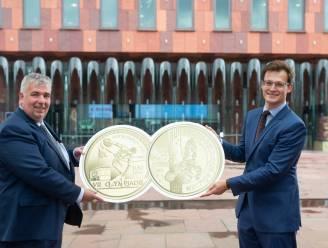 Bijzondere munt viert honderd jaar Olympische Spelen in Antwerpen