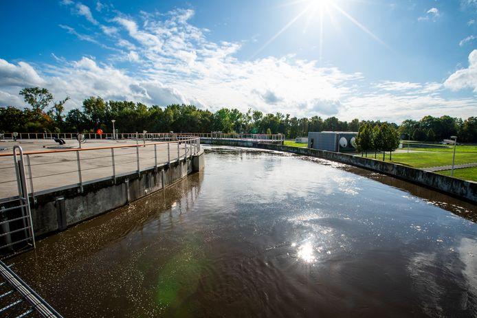 De waterzuivering in Eindhoven. Het werkgebied van Waterschap De Dommel beslaat 31 gemeenten in Zuidoost- en Midden-Brabant.
