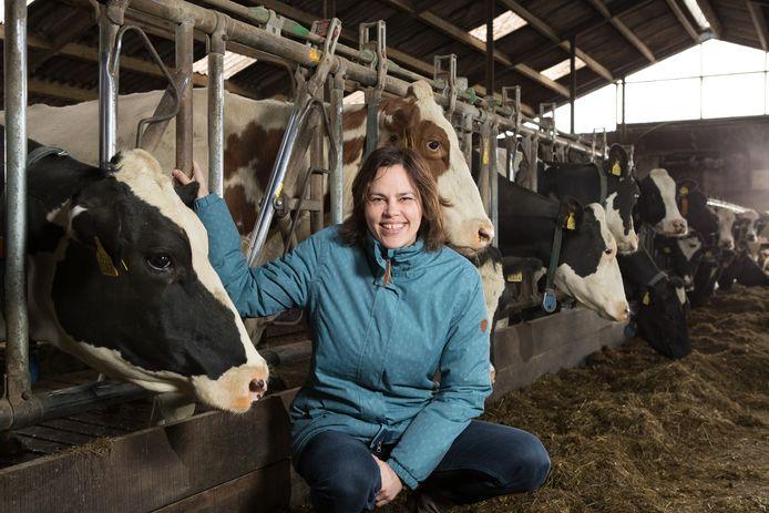 Karin van der Toorn is de voorzitter van het streekteam van Salland Boert en Eet Bewust en deelnemer van de stichting.