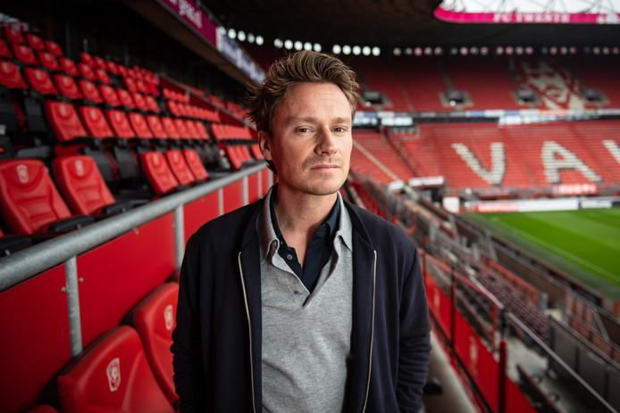 """Sander Schimmelpenninck, hoofdredacteur van Quote, is blij dat hij geen supporter van Ajax is """"Dat lijkt me saai."""""""