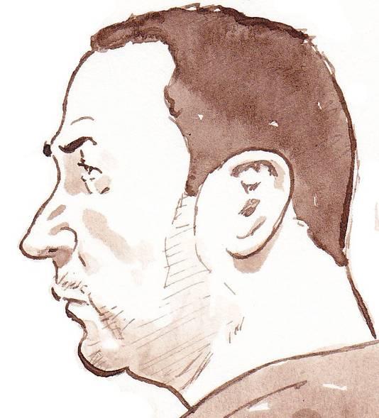 Verdachte Ramazan N., een van de vijf mannelijke verdachten van de diamantroof in 2005 in Schiphol waarbij voor 72 miljoen aan diamanten werd gestolen.