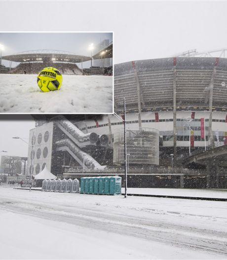 KNVB schrapt eredivisieprogramma van zondag vanwege verwachte sneeuwval