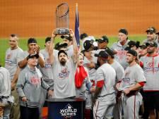 Washington verrast Houston in historische World Series