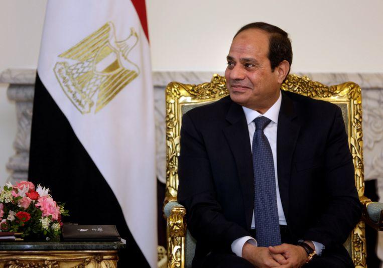 President Abdel Fattah al-Sisi Beeld REUTERS