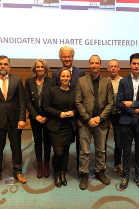 Wilders maakt lijsttrekkers van de PVV in Twente bekend