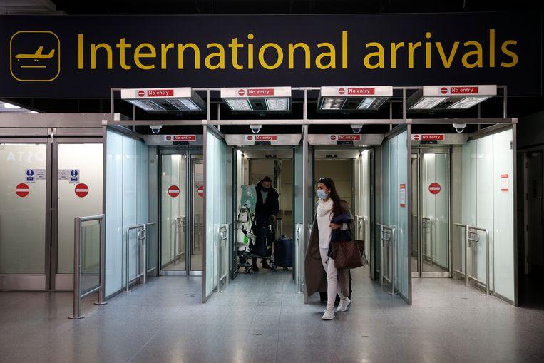 Een aankomstterminal op Gatwick Airport. Beeld Getty Images
