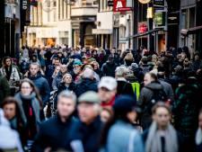 Winkelstraten trekken weer minder bezoekers