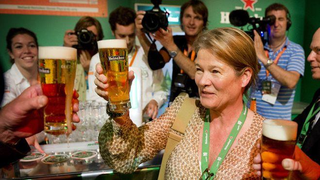 Charlene de Carvalho-Heineken zag haar inkomen stijgen met 33%