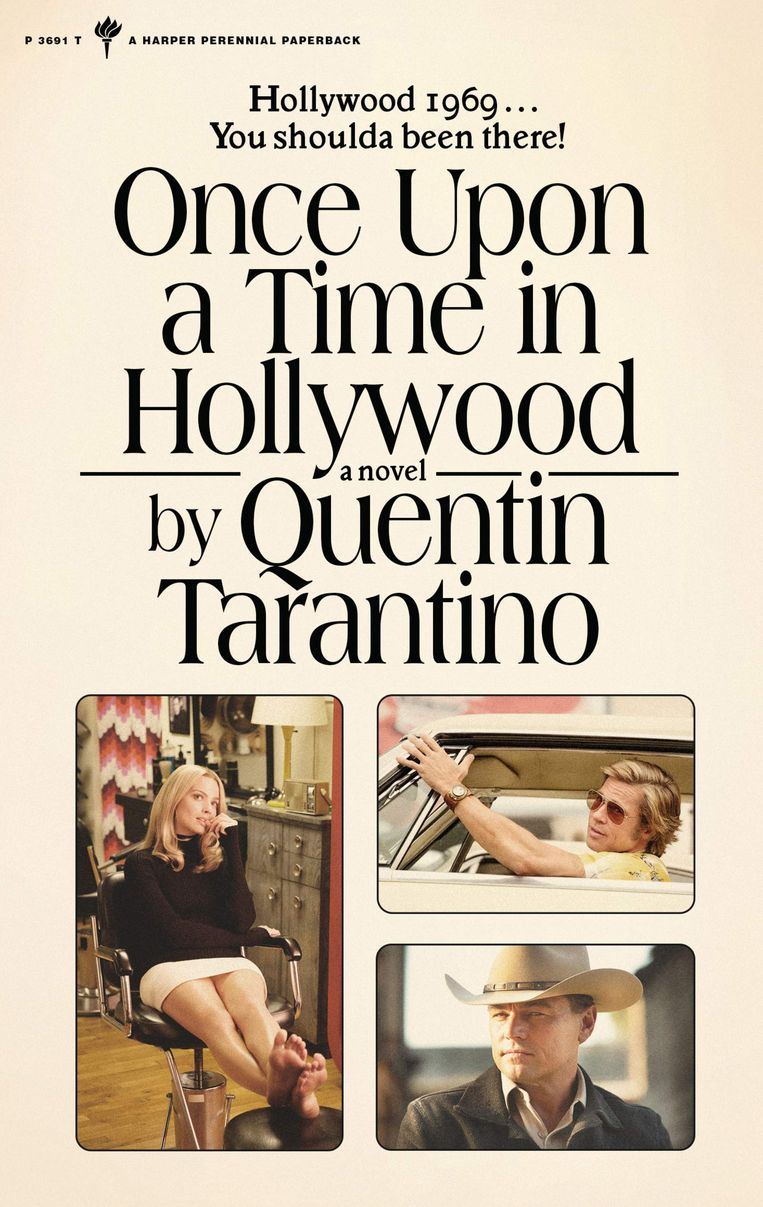 'Once Upon a Time in Hollywood (416 p.) is verschenen bij Harper Collins Publ. USA. Beeld rv