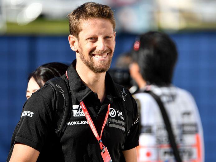 Romain Grosjean op een archieffoto.