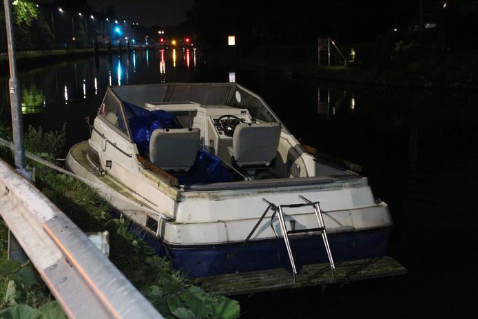 De botendieven werden aangehouden langs de Westvlietweg