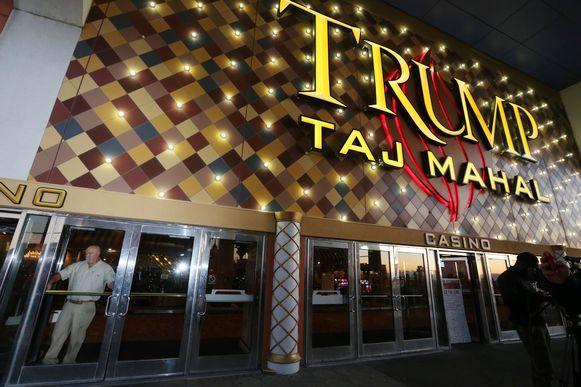 De Taj Mahal van Trump in Atlantic City.