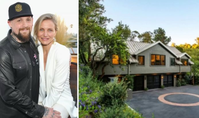 Cameron Diaz en Benji Madden kopen nieuwe villa in Beverly Hills.