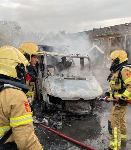 Camperbrand aan Van Houtenstraat in Zutphen blijkt aangestoken