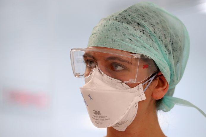 Personnel soignant de l'hôpital Delta à Bruxelles (archives).