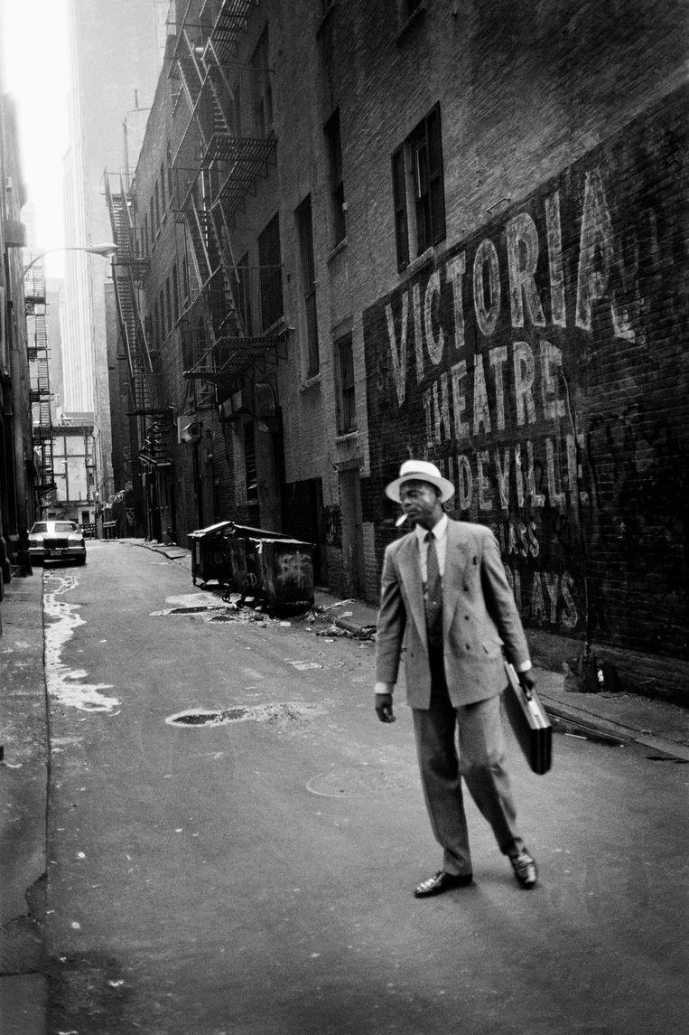 Stephan Vanfleteren, 'New York, 1992'.     Beeld Stephan Vanfleteren