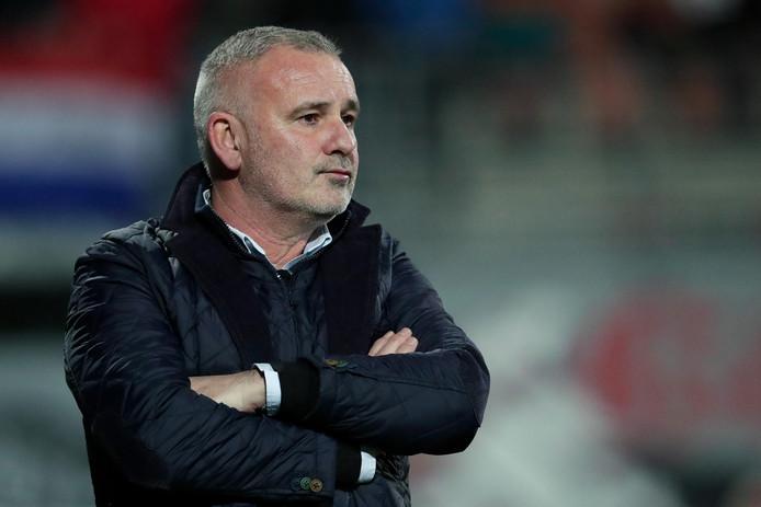 Helmond Sport-trainer Robby Alflen.