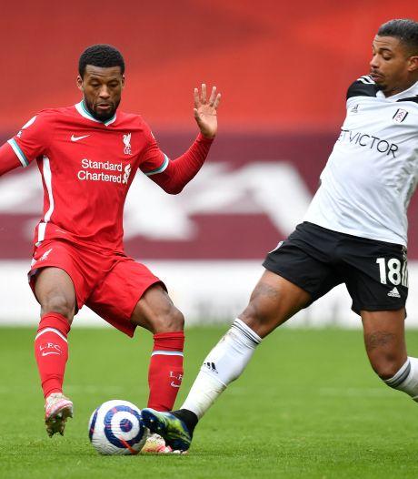 Liverpool volledig de weg kwijt: ook degradatiekandidaat Fulham wint op Anfield