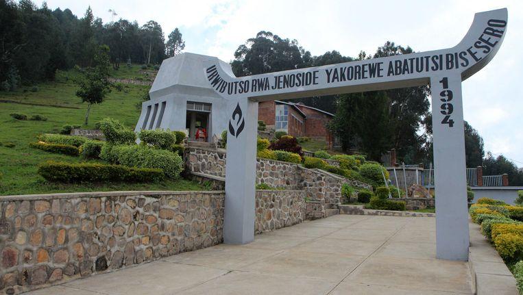 In Bisesero werden tijdens de genocide 50.000 Tutsi's omgebracht Beeld AFP