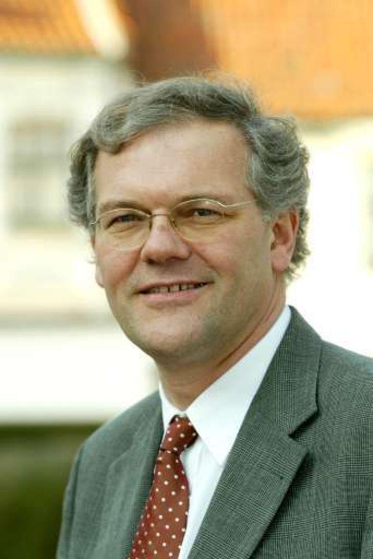 Justitieminister Stefaan De Clerck was vanochtend nog op bezoek in de gevangenis van Brugge. Beeld UNKNOWN