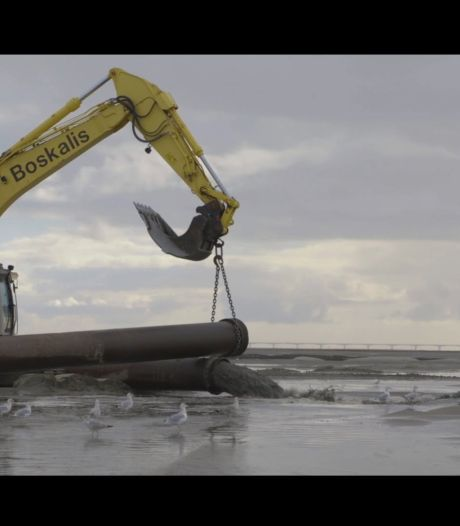 De zandhonger te lijf: stukje Oosterschelde wordt halve meter hoger