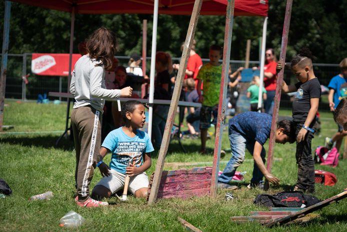Jeugdland trapte de instuif in De Laar af met 130 kinderen. Het hadden er wel 200 kunnen zijn.