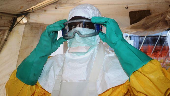 Médecin MSF à Conakry, en Guinée, le 28 juin dernier.