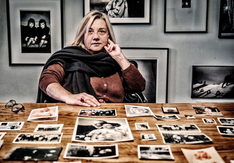 Myriam Rymen: 'Het is jammer dat ik geen enkele foto van mijn moeder en mij heb. Zelfs geen obligate foto in de kraamkliniek.' Beeld Tim Dirven