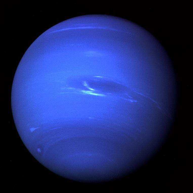 Neptunus. Foto door Voyager 2. Beeld NASA