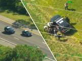 Video van de Dag | Spectaculaire luchtbeelden: man vlucht twee (!) keer in gestolen politieauto