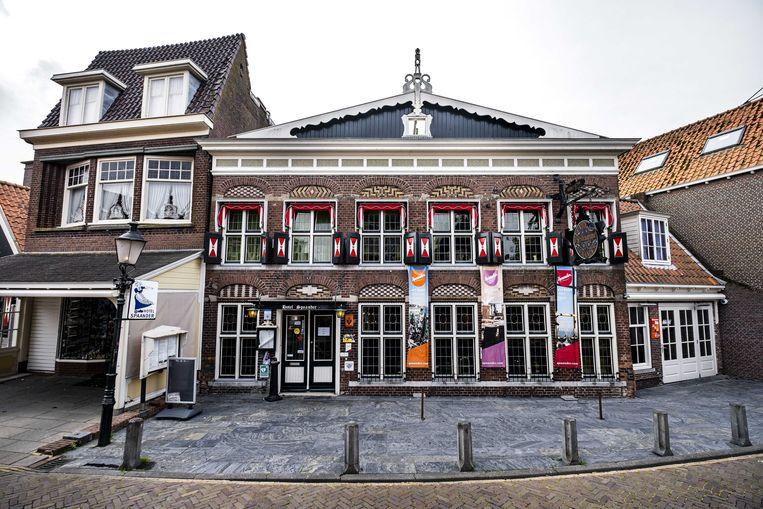 Hotel Spaander in Volendam werd vorig jaar failliet verklaard. Beeld ANP