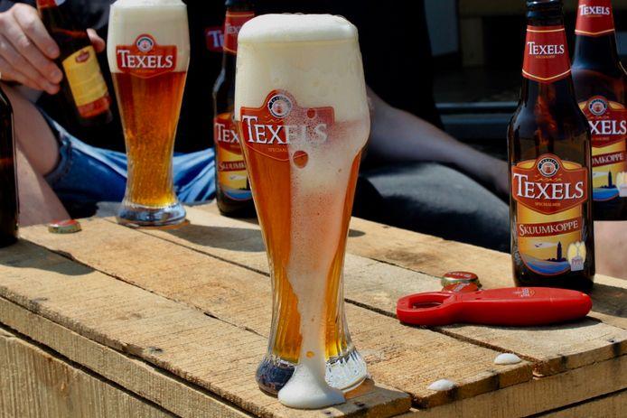 Een glas Texels Skuumkoppe.