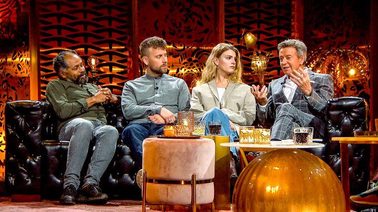 Ronny Mosuse, Tourist LeMC, Emma Bale en Willy Sommers in Liefde voor muziek, seizoen 7. Beeld VTM