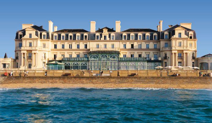Le Grand Hôtel des Thermes marins de St-Malo.