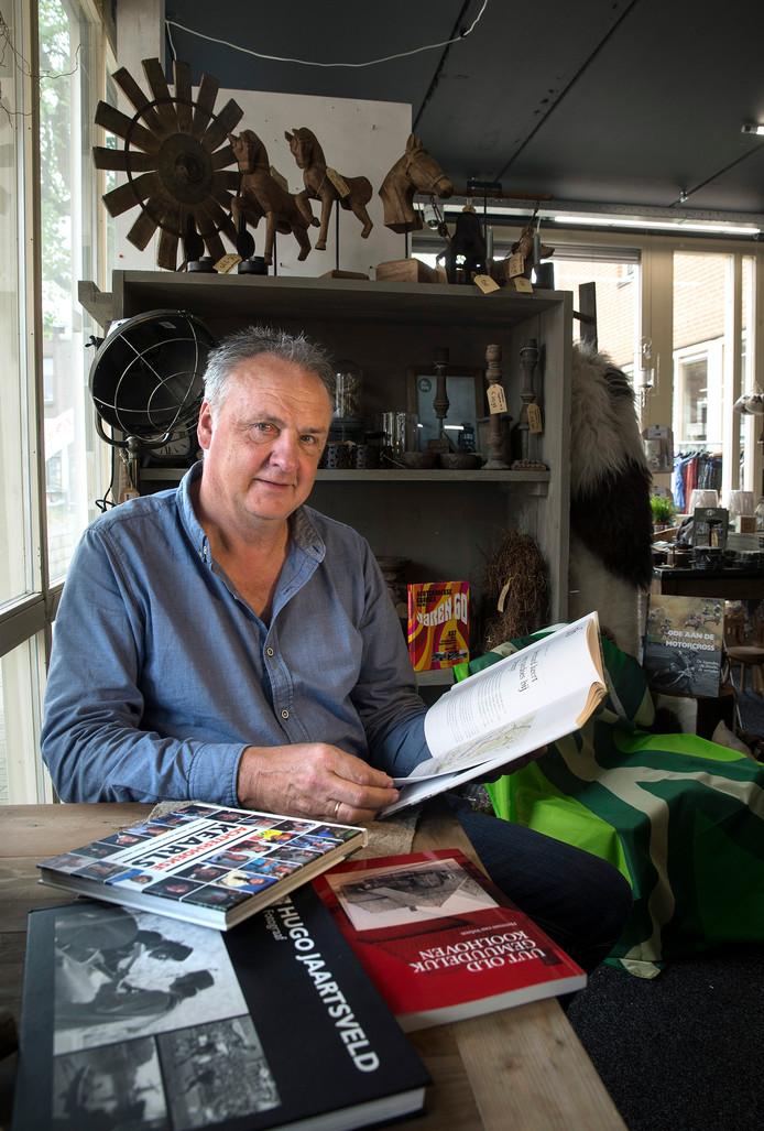 01-05-2019 Hengelo-uitgever Willy Hermans- Foto Theo Kock 01