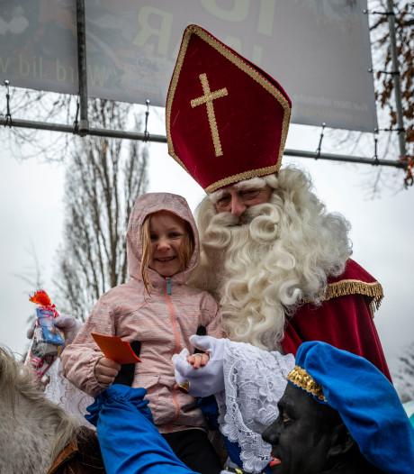 Sinterklaas zelf uitzwaaien kan helpen schakelen