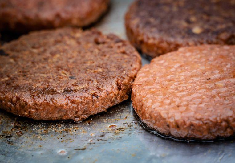Vegetarische hamburgers. Beeld ANP
