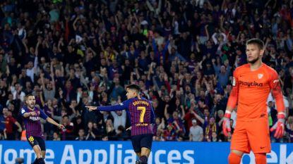 LIVE. Het gaat hard in Camp Nou: Coutinho en Messi zetten Barça snel op rozen