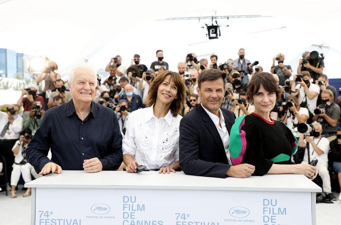 André Dussollier, Sophie Marceau, François Ozon, Géraldine Pailhas
