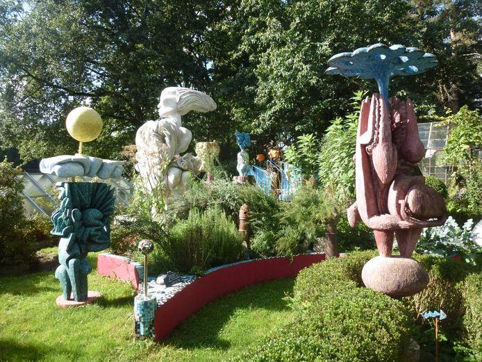Een keer per jaar organiseren Al Balis en Beg-Tsé een expo: Tuin-Toonstelling.